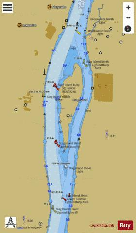 ST CLAIR RIVER PAGE 47 Marine Chart - Nautical Charts App