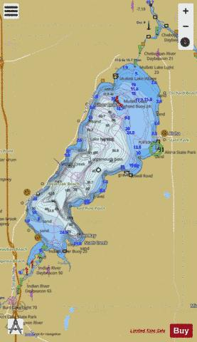 INLAND ROUTE MICHIGAN 6 Marine Chart - Nautical Charts App