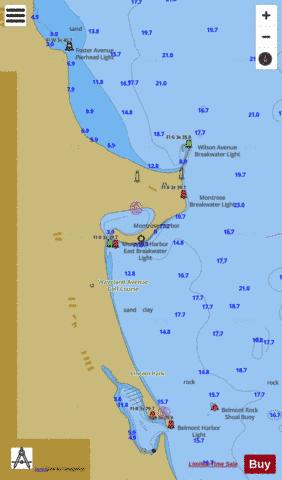 CHICAGO AND VICINITY PAGE 5 Marine Chart - Nautical Charts App