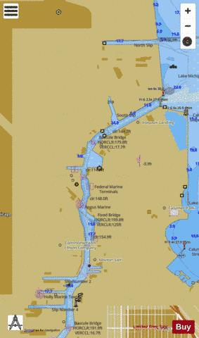 CHICAGO AND VICINITY PAGE 25 Marine Chart - Nautical Charts App