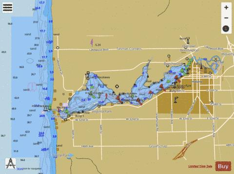 HOLLAND HARBOR  Marine Chart - Nautical Charts App