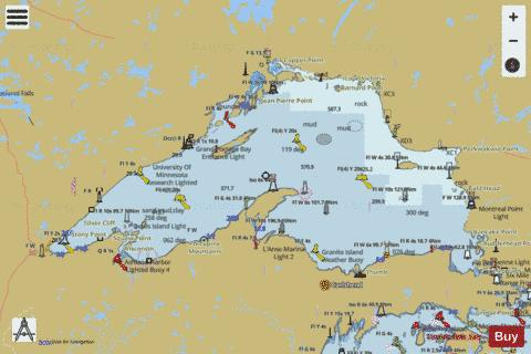 LAKE SUPERIOR Marine Chart - Nautical Charts App