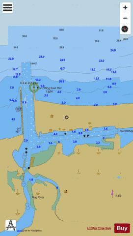 PORT WING WISCONSIN Marine Chart - Nautical Charts App