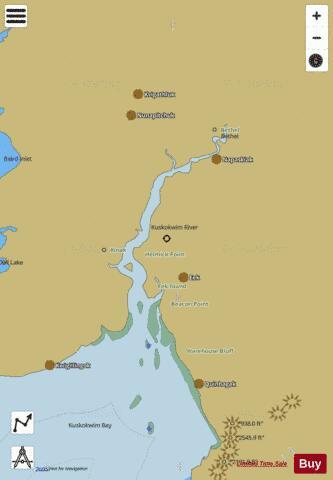 KUSKOKWIM RIVER KUSKOKWIM BAY TO BETHEL (Marine Chart ... on chitina river map, stikine river map, kobuk river map, red devil, cimarron river map, innoko river map, gulkana river map, chilkoot river map, susitna river map, colville river map, willamette river map, wrangell mountains, noatak river map, eklutna river map, north canadian river map, tanana river, bering sea river map, tanana river map, yukon river, sheenjek river map, norton sound, mcneil river map, colville river, wind river map, talkeetna river map, stikine river, deshka river map,