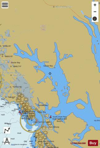 GLACIER BAY Marine Chart US17318P2638 Nautical Charts App