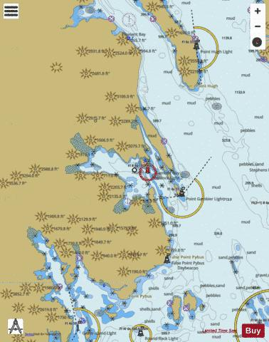GAMBIER BAY Marine Chart - Nautical Charts App