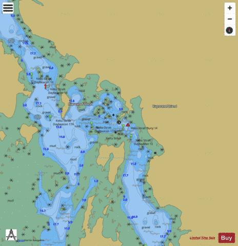 DEVILS ELBOW Marine Chart - Nautical Charts App