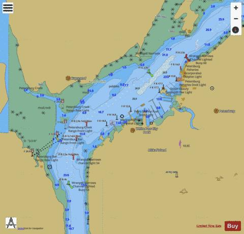 PETERSBURG Marine Chart - Nautical Charts App