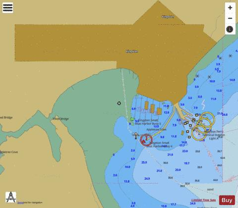 POSSESSION SOUND-OLYMPIA Marine Chart - Nautical Charts App