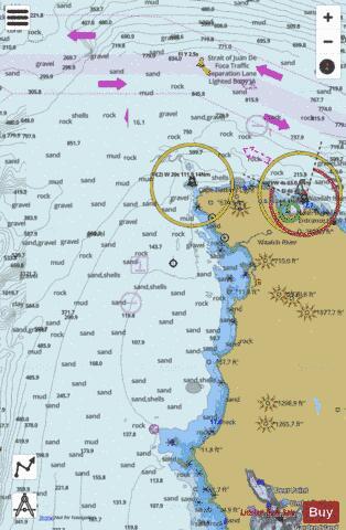 CAPE FLATTERY (Marine Chart : US18485_P1729) | Nautical Charts App