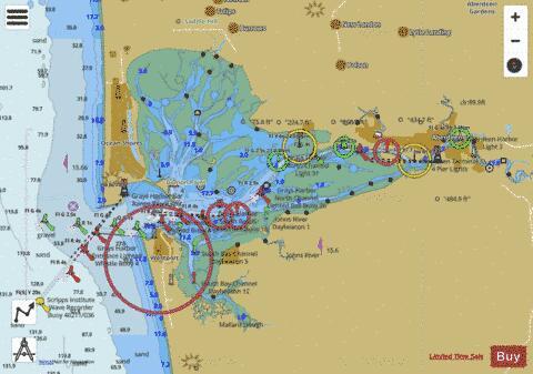 GRAYS HARBOR (Marine Chart : US18502_P1731) | Nautical Charts App