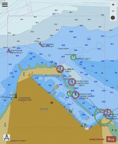WESTHAVEN COVE (Marine Chart : US18502_P1732) | Nautical Charts App