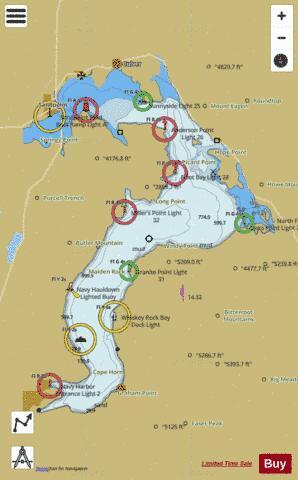 LAKE PEND OREILLE (Marine Chart : US18554_P1786) | Nautical Charts App