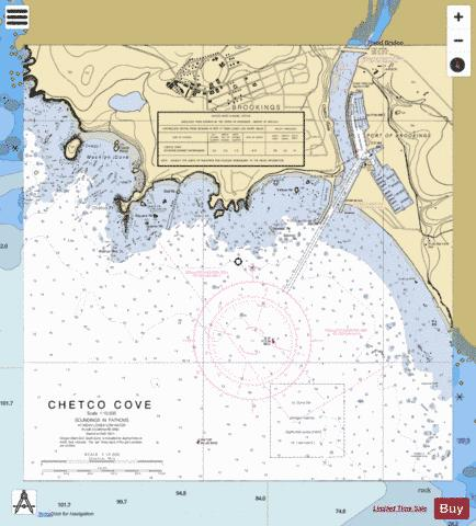 CHETCO COVE Marine Chart - Nautical Charts App