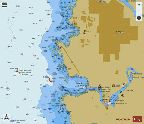 FORT BRAGG AND NOYO ANCHORAGE Marine Chart - Nautical Charts App