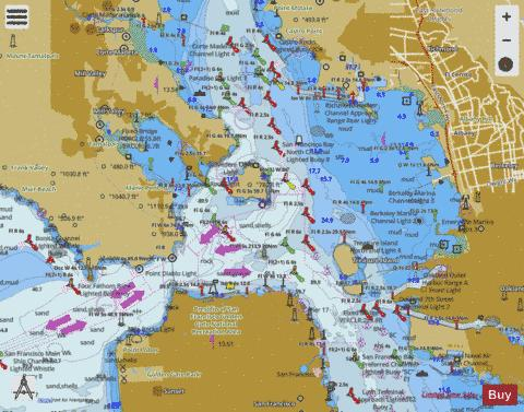 san francisco bay to antioch marine chart nautical charts app