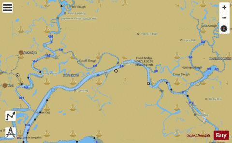 San Fran Bay To Antioch Montezuma Slough Ext Marine Chart Nautical Charts App