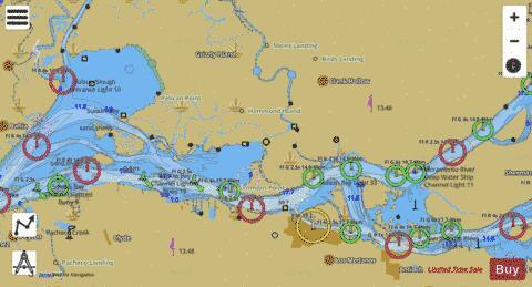 San Francisco Bay To Antioch Suisun Marine Chart Nautical Charts