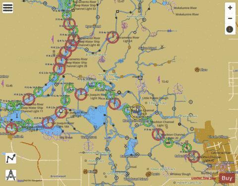 Sacramento And San Joaquin Rivers Marine Chart Us18661p1855