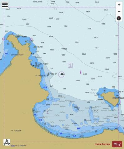 CUYLER HARBOR Marine Chart - Nautical Charts App