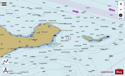 Anacapa Passage Marine Chart Us18729p1891 Nautical Charts App