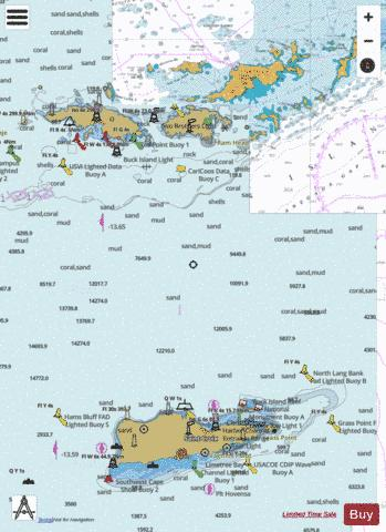 VIRGIN ISLANDS VIRGIN GORDA TO ST THOMAS AND ST CROIX Marine Chart - Nautical Charts App