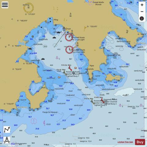 ENSENADA HONDA (Marine Chart : US25666_P394) | Nautical Charts App