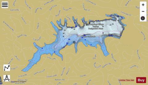 Lake Coronado (Fishing Map : US_AA_AR_coronado_lake_ar) | Nautical ...