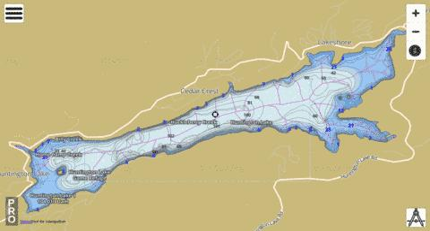 Huntington Lake Fishing Map Us Aa Ca Huntington Lake Ca Nautical Charts App