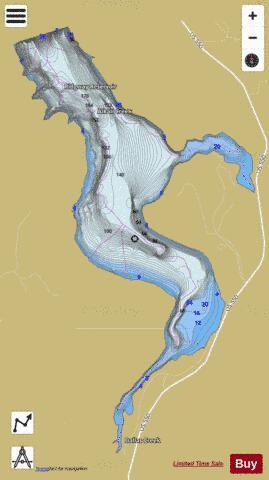 Ridgeway Colorado Map.Ridgeway Reservoir Fishing Map Us Aa Co Ridgewayreservoir Co