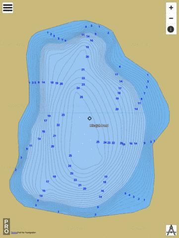 Micajah Pond Fishing Map - i-Boating App