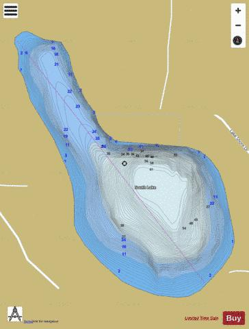 South Lake ,Clare Fishing Map - i-Boating App