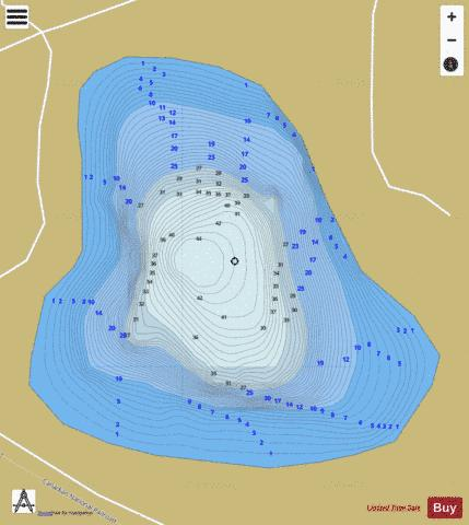 Swanzy Lake ,Marquette Fishing Map - i-Boating App