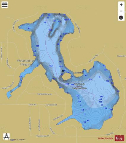 Lake Victoria Fishing Map - i-Boating App