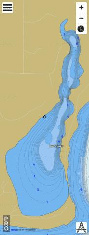 Lake Buck Fishing Map - i-Boating App