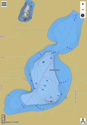 Lake Stocking Fishing Map - i-Boating App