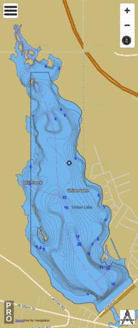 union lake nj map Union Lake Fishing Map Us Aa Nj Union Lake Nj Nautical union lake nj map