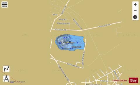 collins lake fishing map Collins Lake Fishing Map Us Aa Ny Collins Lake Ny Nautical collins lake fishing map