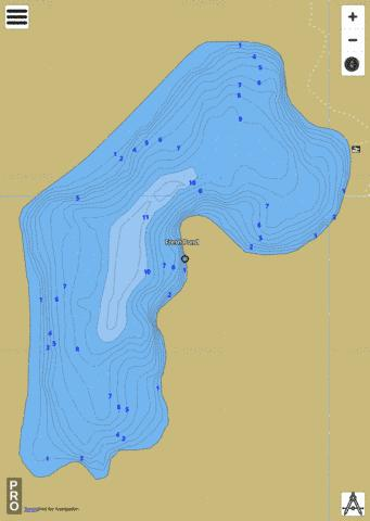 Fresh Pond Fishing Map - i-Boating App