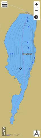 Tooley Pond Fishing Map - i-Boating App