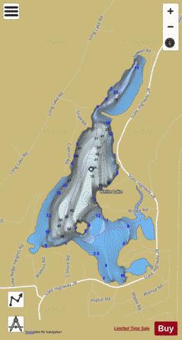 white lake ny map White Lake Fishing Map Us Aa Ny White Lake Ny Nautical Charts App white lake ny map