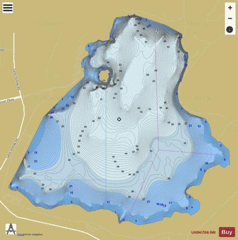 Sand Hollow Reservoir Fishing Map - i-Boating App