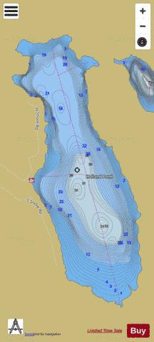 Holland Pond Holland Fishing Map - i-Boating App