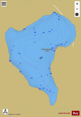 South America Pond Ferdinand Fishing Map - i-Boating App