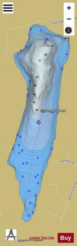Ticklenaked Pond Ryegate Fishing Map - i-Boating App