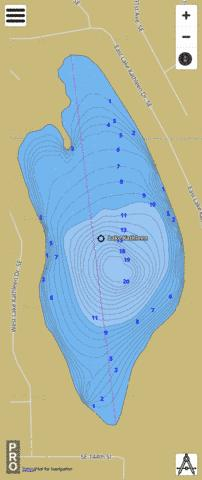 Kathleen Lake,  King County Fishing Map - i-Boating App