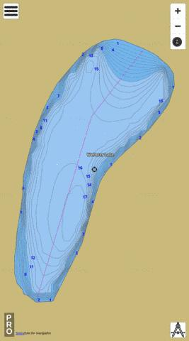 Webster Lake,  King County Fishing Map - i-Boating App