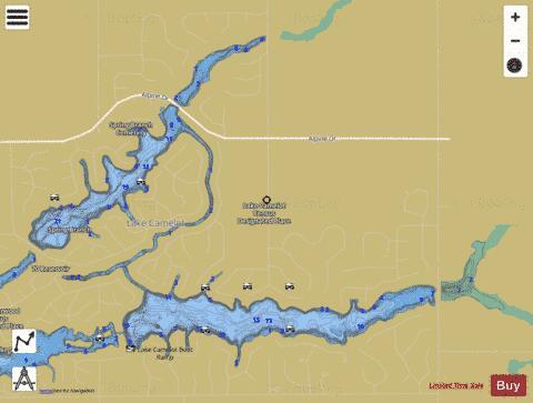 Camelot Lake (Fishing Map : US_AA_WI_camelot_lake_wi