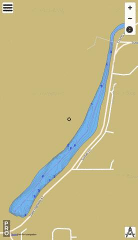 Campbellsport Millpond Fishing Map - i-Boating App