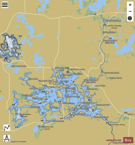 Lake Chippewa ( Map : US_AA_WI_chippewa_lake_wi) | Nautical ... on